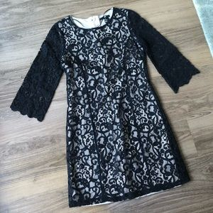 H&M Black Lace Dress - sz XS
